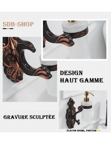 Collection Dragon (2), Porte savon liquide design