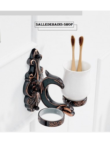 Collection Dragon, porte verre duo design