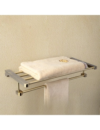 Collection Zeus 2, porte serviette rack Bronze