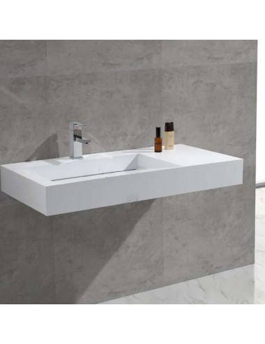 Isto, lavabo suspendu design 990x495x120 mm