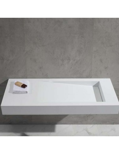 Plot, lavabo mural suspendu 1190x495x120 mm
