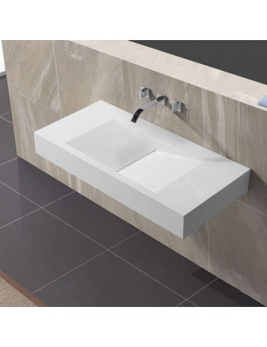 Stilus, lavabo mural design 1000x480x130 mm