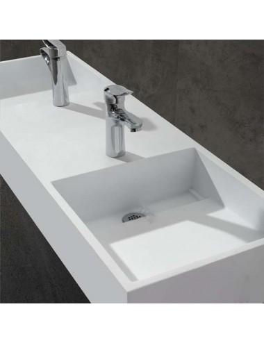 Lusto, lavabo design duo 1210x400x145 mm