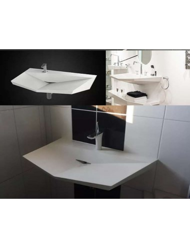 Maéstro, vasque design solid surface