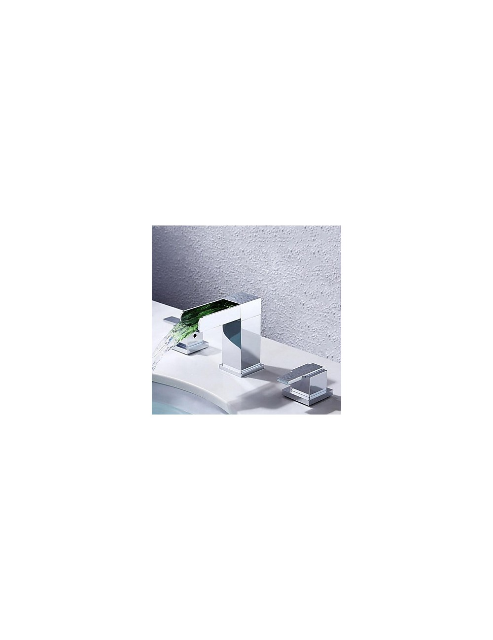 First, mélangeur lavabo Led Cascade Chrome