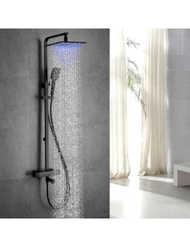 Atlas, colonne de douche led thermostatique
