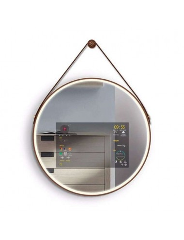Hyde, mirroir intelligent bluetooth, 60 cm diamètre