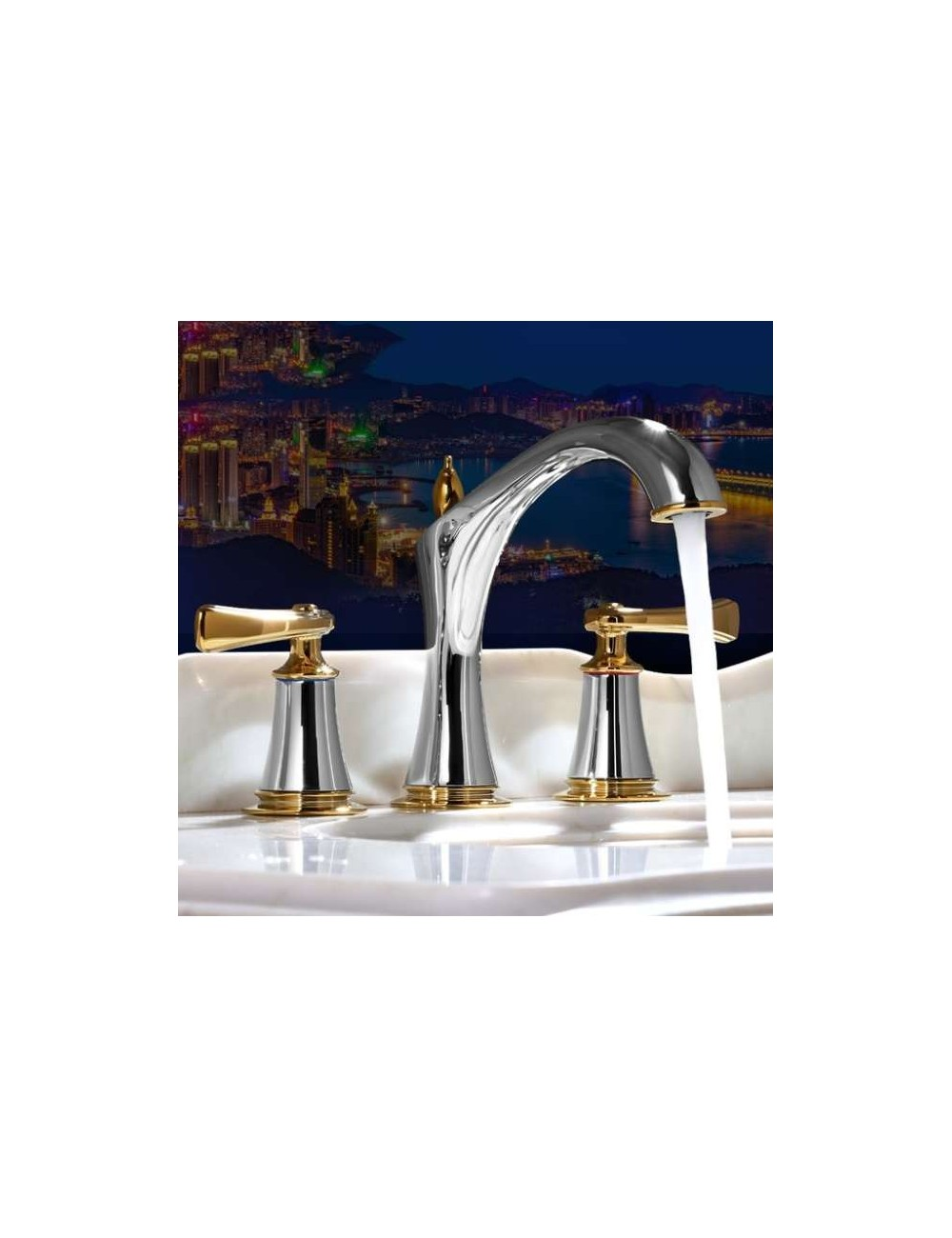 Fray, robinet lavabo Luxe