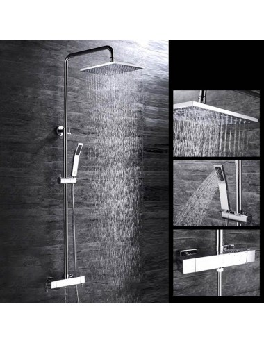 Vesta, colonne de douche thermostatique