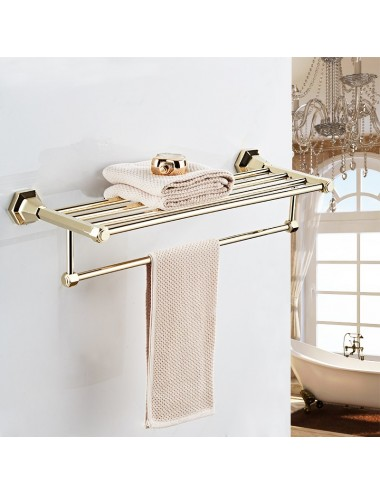 Collection Lux, rack porte serviette haute gamme 60 cm