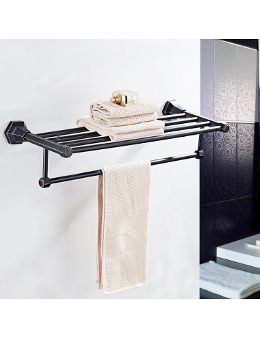 Collection  Lux3, rack porte serviette,finition Orb