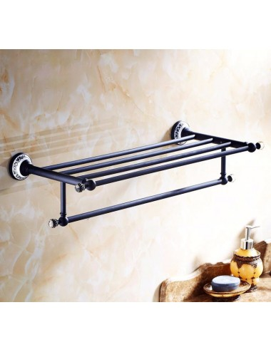 Collection King, porte serviette rack, finition orb