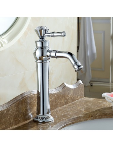 Collection Alto , robinet lavabo , chrome poli