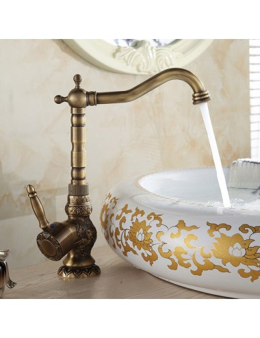 Collection Zeus, Robinet haut lavabo antique