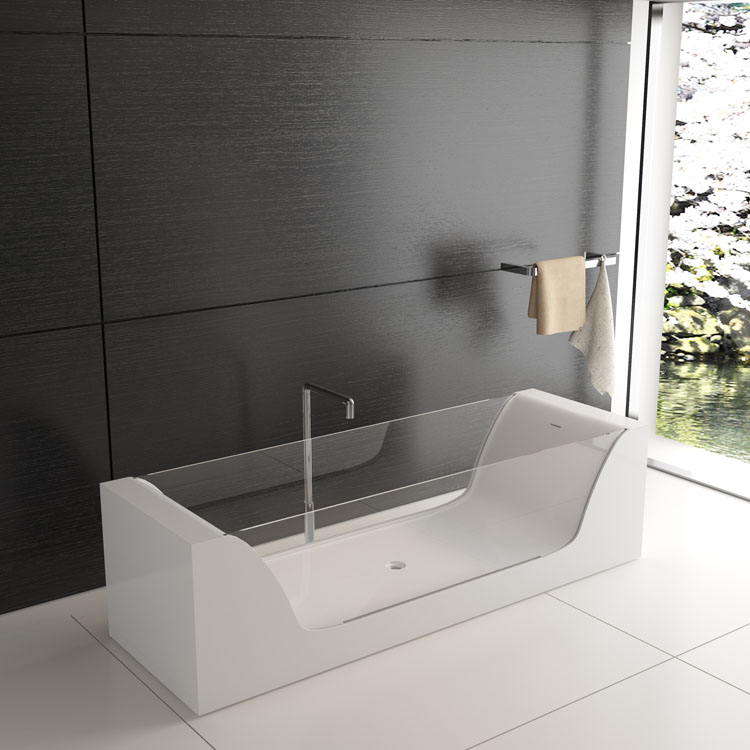 GLASS baignoire design solid surface